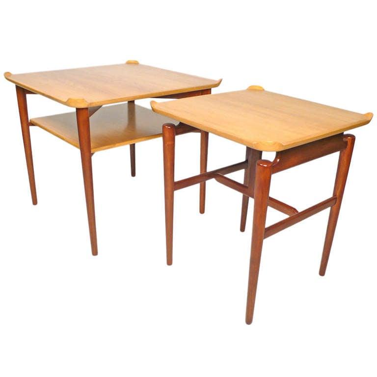 Side or End Tables by Finn Juhl for Baker