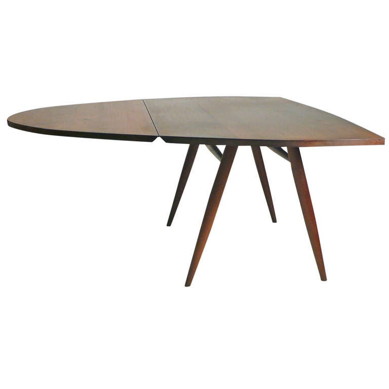 Drop Leaf Table Desk by George Nakashima