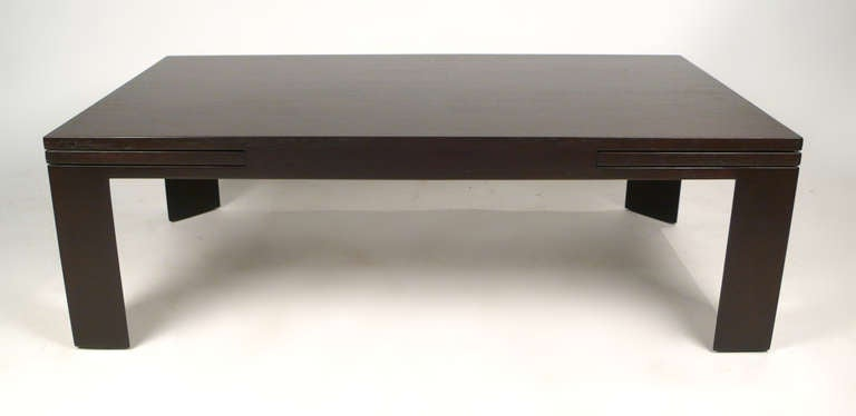 edward wormley expandable coffee table for sale at 1stdibs