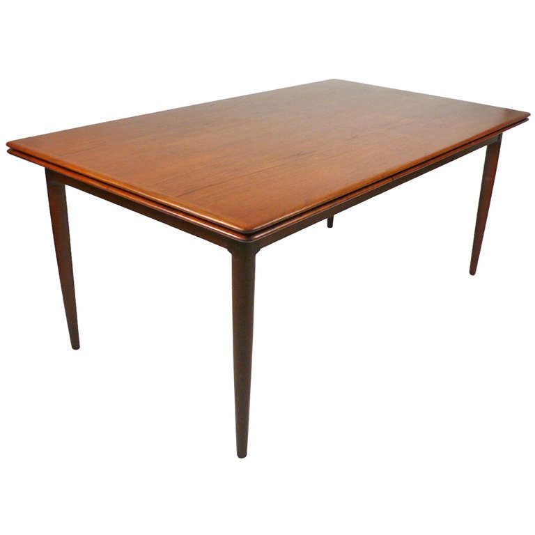 Teak Extension Dining Table by Skovmand and Andersen at  : 859079l from 1stdibs.com size 768 x 768 jpeg 23kB