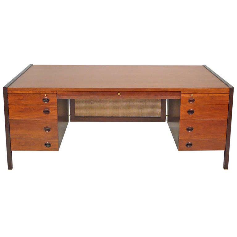 Dunbar Desk by Edward Wormley for Dunbar