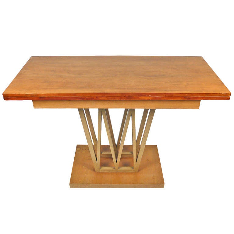 Custom console table for sale at 1stdibs - Archives departementales 33 tables decennales ...
