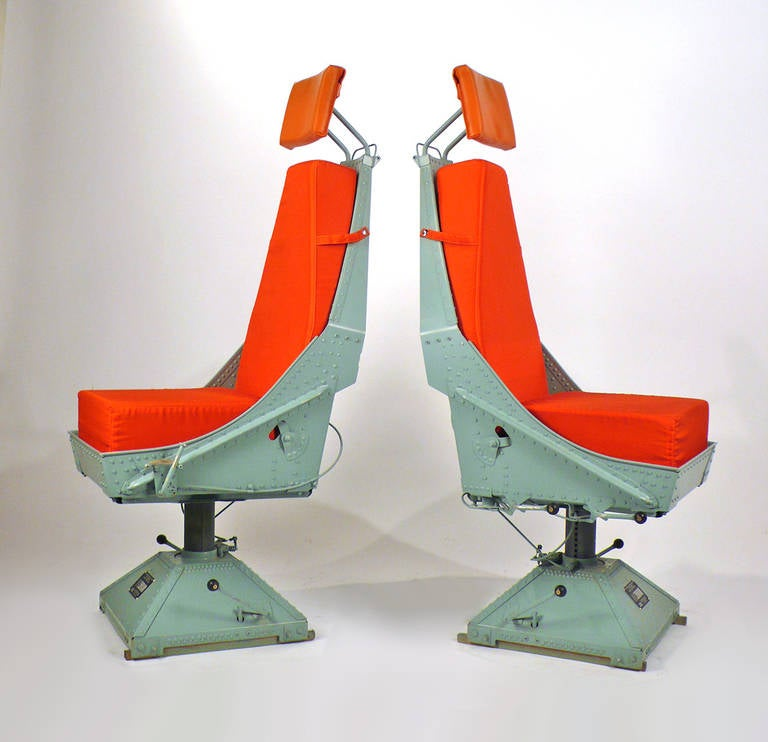 Airplane Chairs From C 130 At 1stdibs