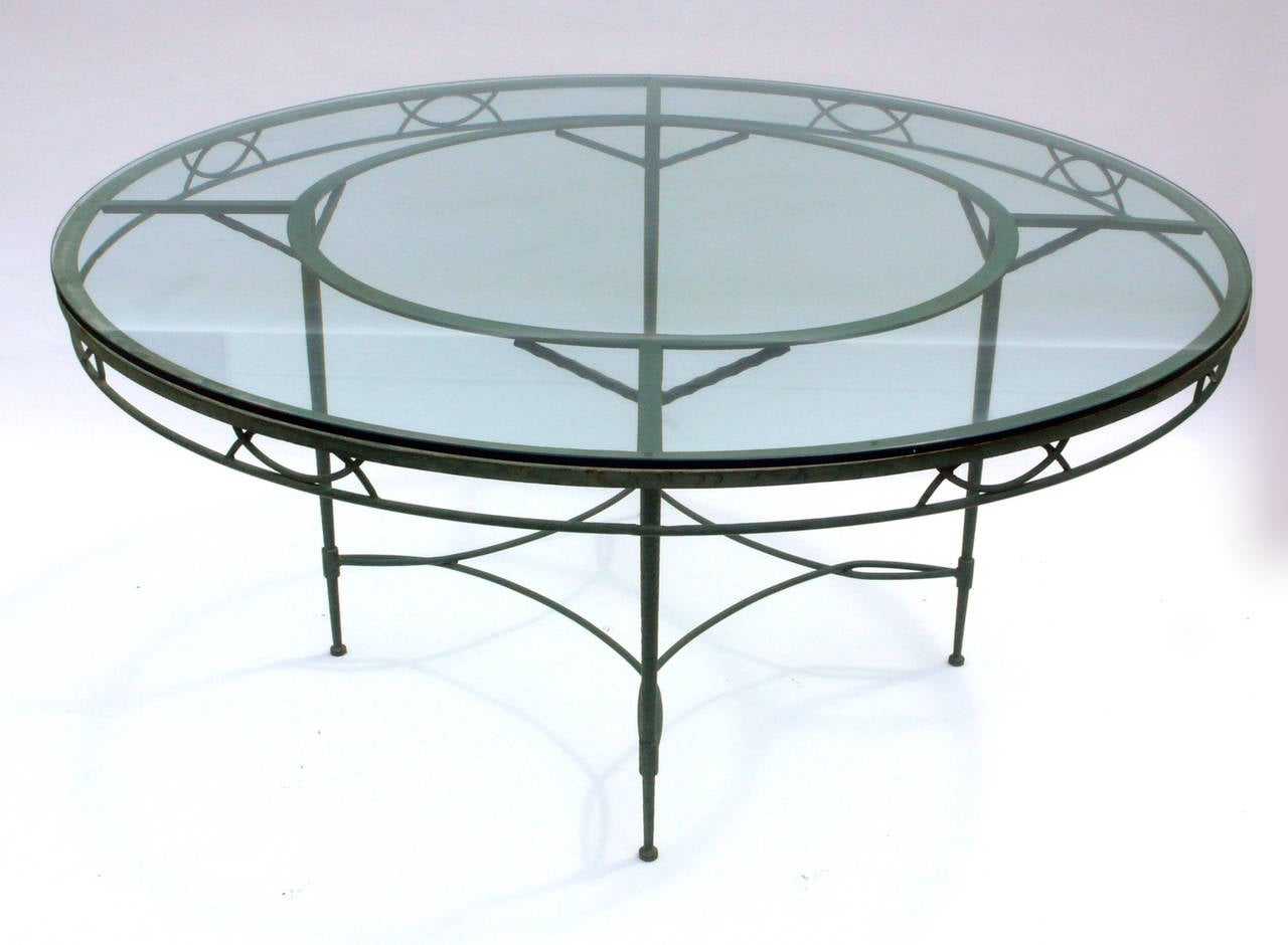 large salterini patio table seats 8 for sale at 1stdibs