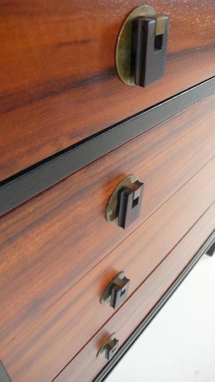 Brass Dunbar Dresser For Sale