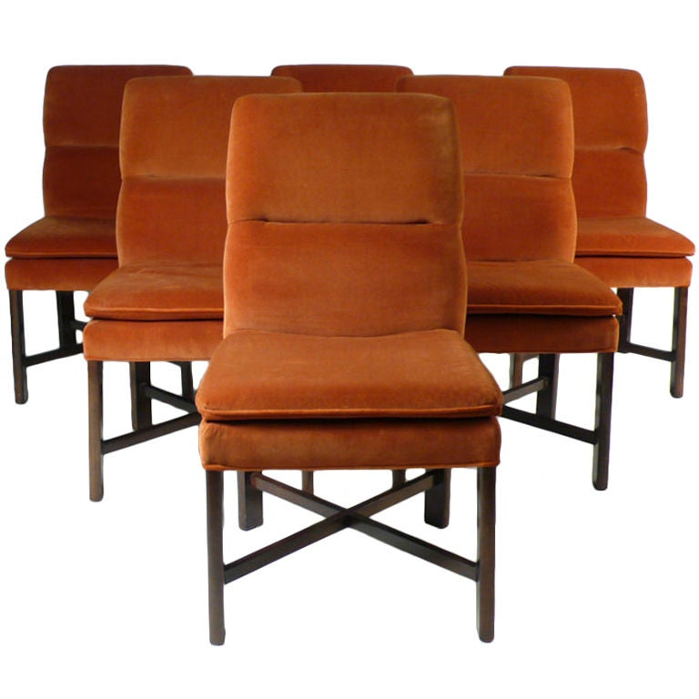 Baker dining chairs 6 at 1stdibs for Chair 6 mt baker