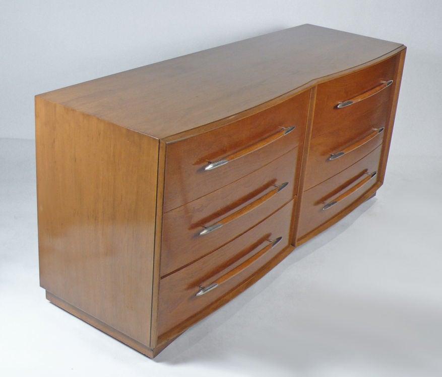 American Widdicomb Dresser Designed by T.H. Robsjohn-Gibbings For Sale