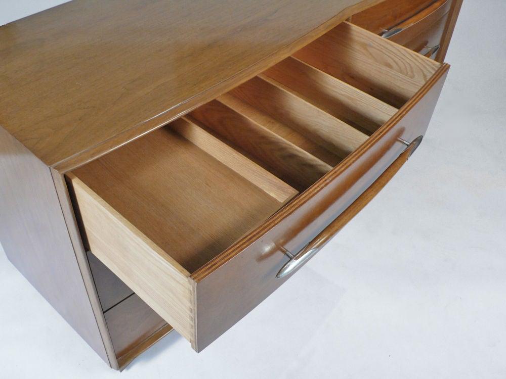 Mid-20th Century Widdicomb Dresser Designed by T.H. Robsjohn-Gibbings For Sale