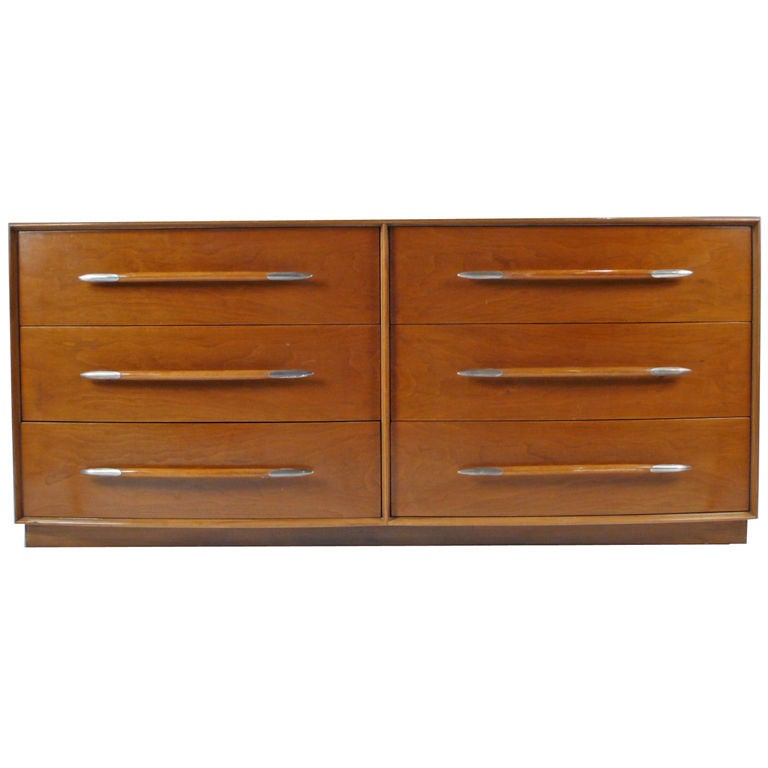 Widdicomb Dresser Designed by T.H. Robsjohn-Gibbings For Sale