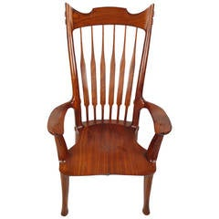 Dave Hentzel Hand-Crafted Arm Chair