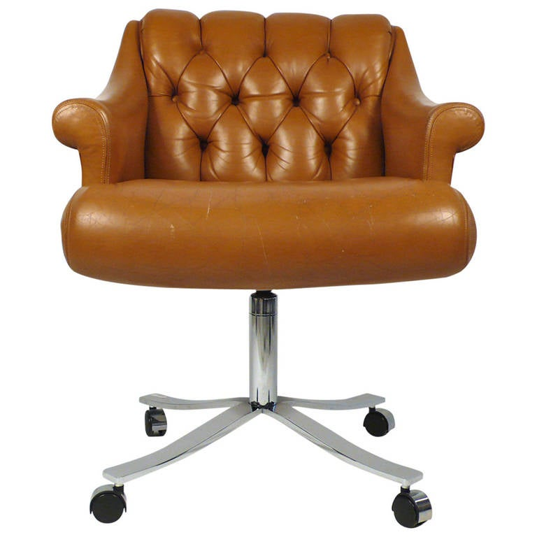 this zographos deep tufted modernist desk chair is no longer available