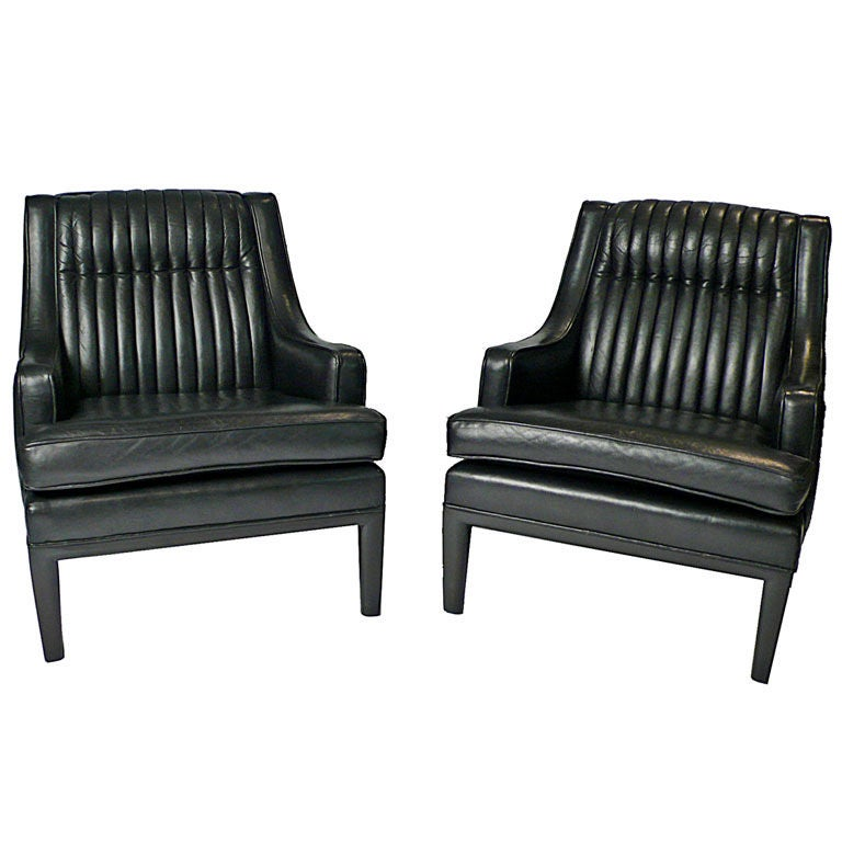 this monteverdi young black leather club chairs is no longer