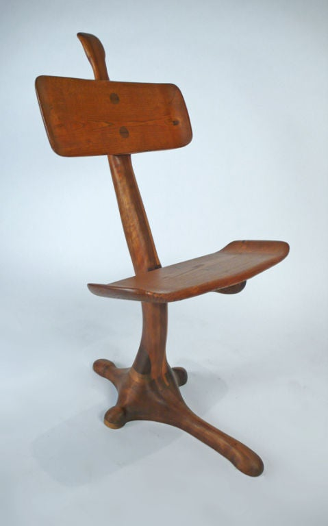 American California Crafts Movement Chair - Sculpture For Sale