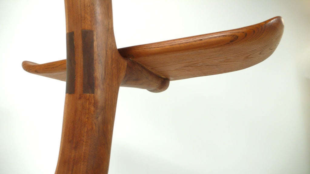 Mid-20th Century California Crafts Movement Chair - Sculpture For Sale