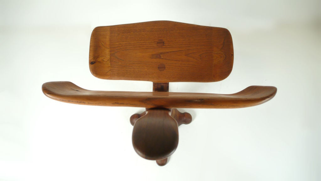 California Crafts Movement Chair - Sculpture For Sale 3