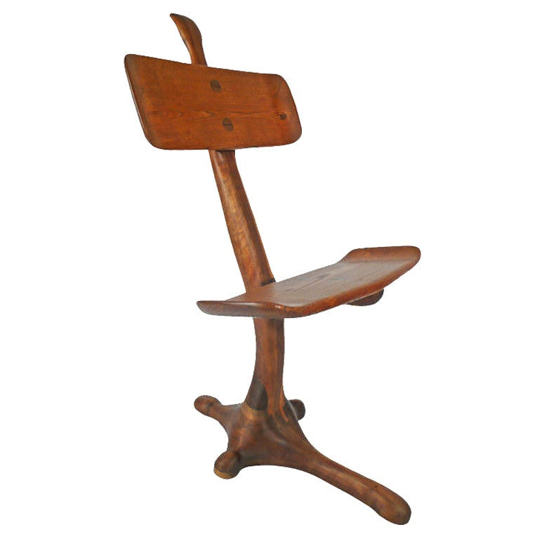 California Crafts Movement Chair - Sculpture For Sale