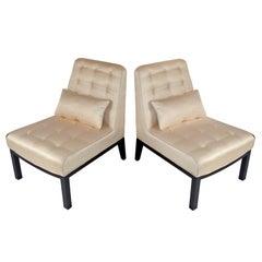 Slipper Chairs by Edward Wormley for Dunbar
