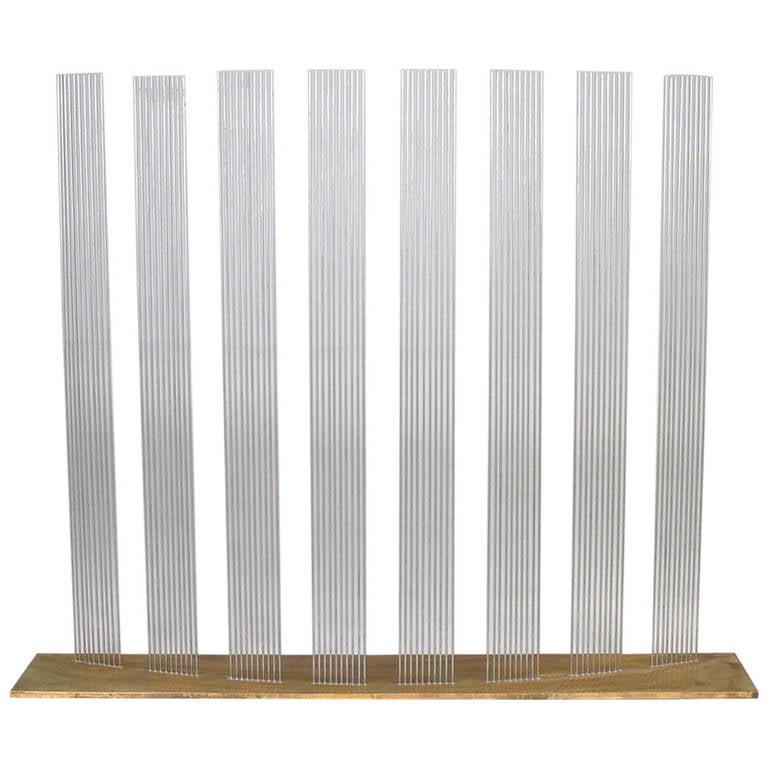 "Val Bertoia ""8 Times Sound"" Rods Sculpture"