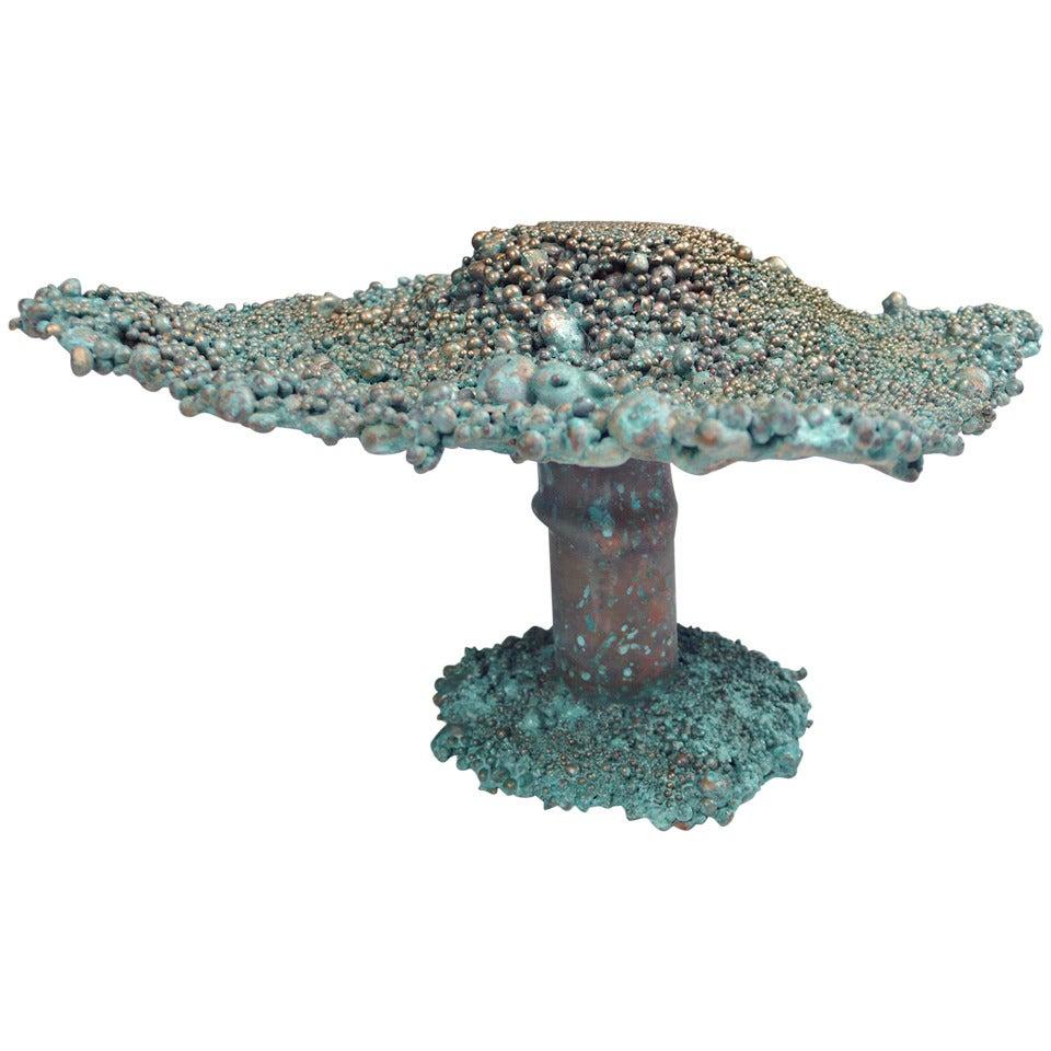 Val Bertoia Mushroom Sculpture