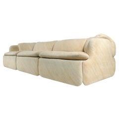 """""""Confidential Sofa"""" by Alberto Rosselli for Saporiti - Italy"""