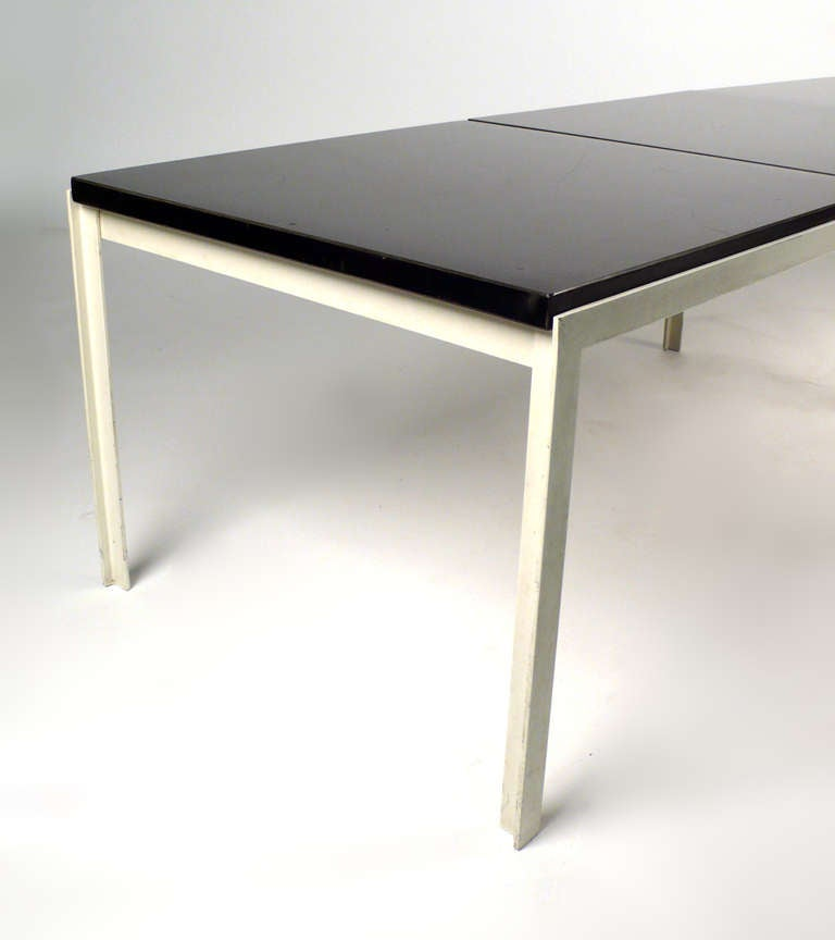 Mid-20th Century Architectural Florence Knoll T-Angle Table Bench For Sale