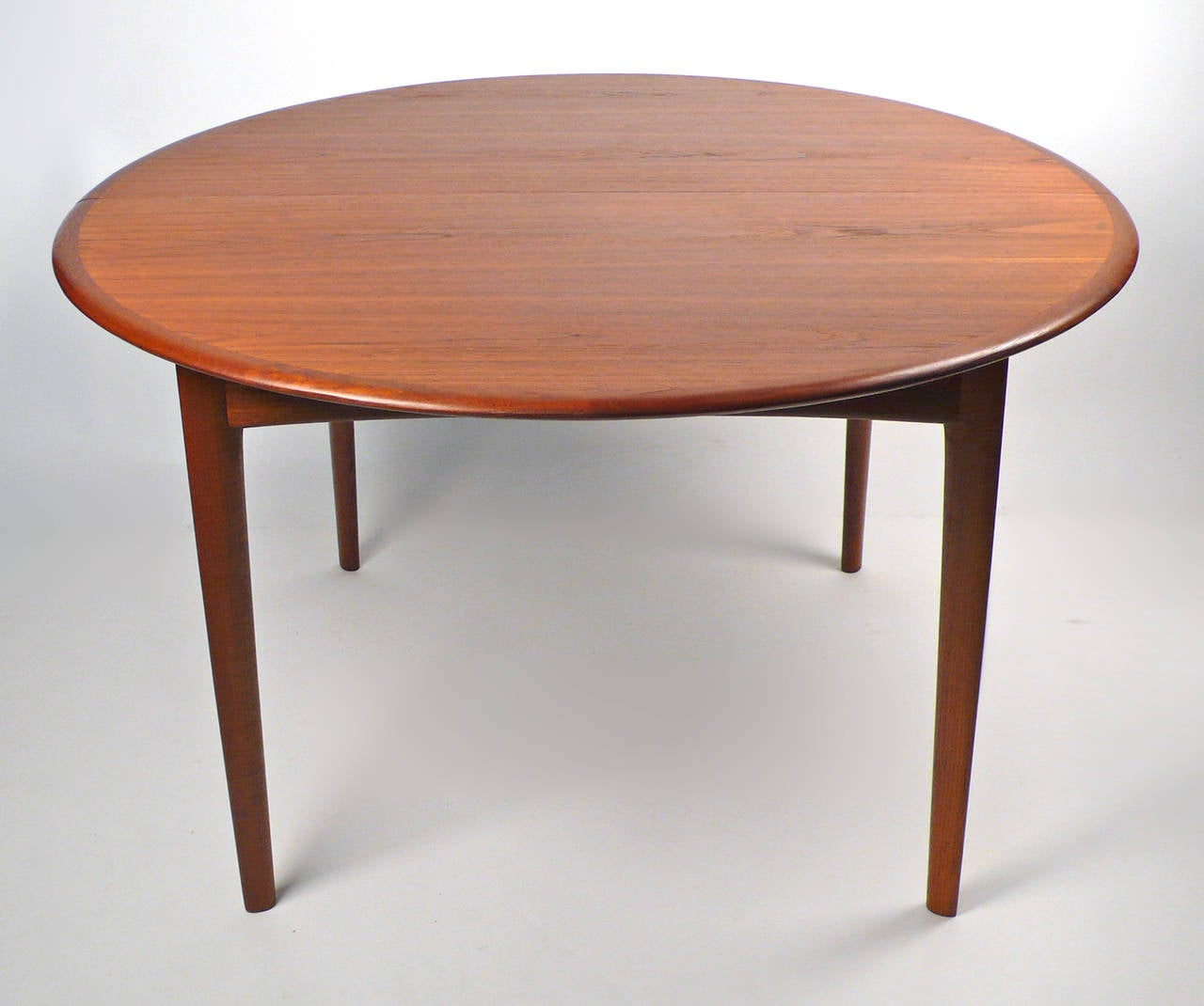 svend madsen danish modern extension dining table at stdibs - svend madsen danish modern extension dining table