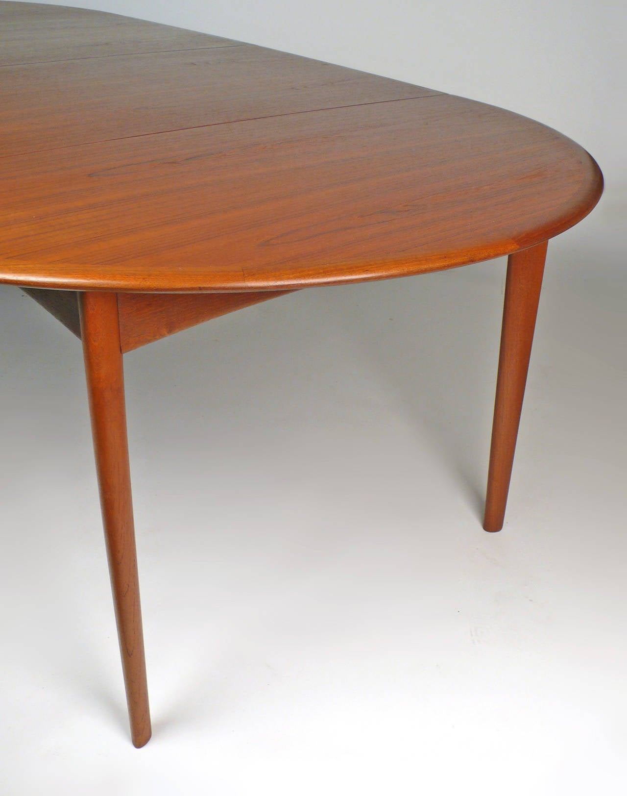 Svend Madsen Danish Modern Extension Dining Table At 1stdibs