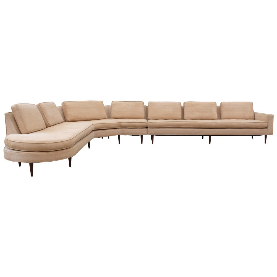 Harvey Probber Sectional Sofa At 1stdibs