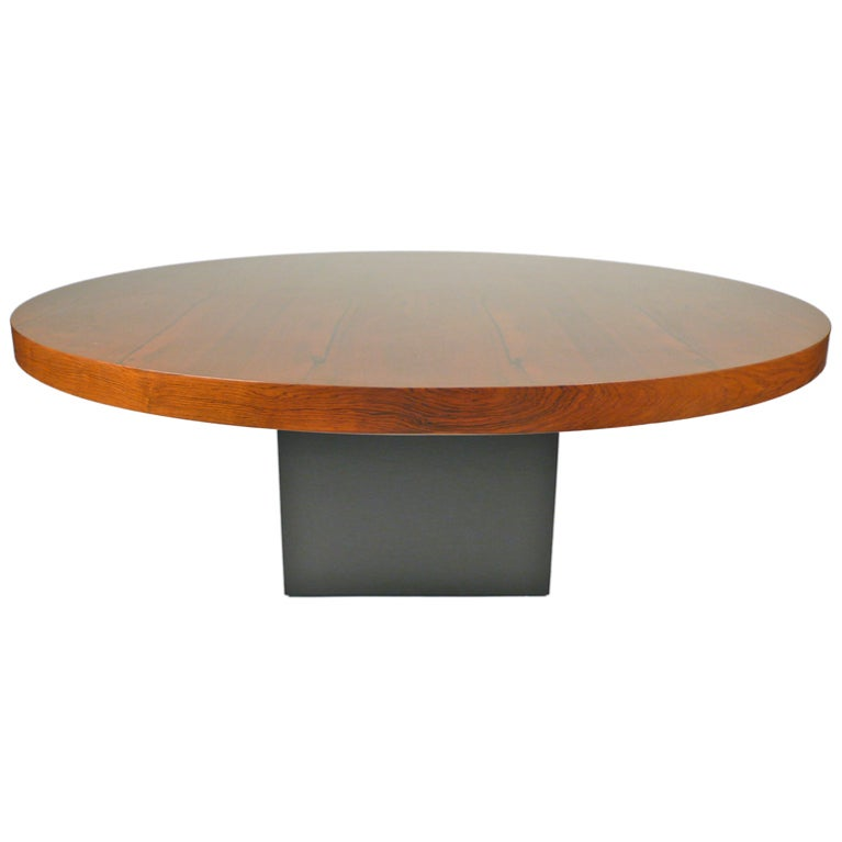 Rosewood milo baughman cocktail table for sale at 1stdibs for Cocktail tables for sale used