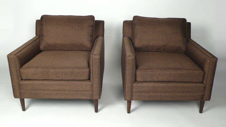 American Club Chairs by Harvey Probber For Sale