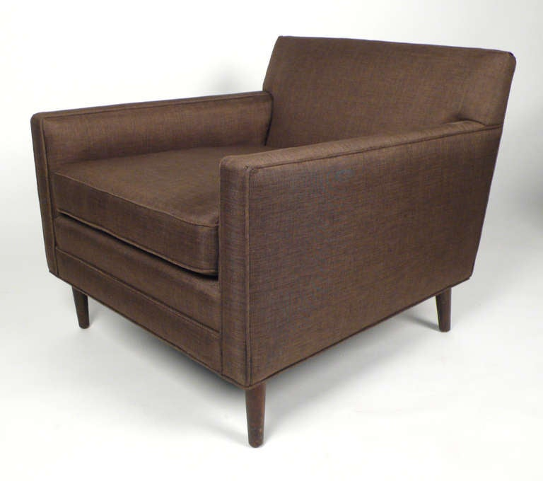 Club Chairs by Harvey Probber In Excellent Condition For Sale In Dallas, TX