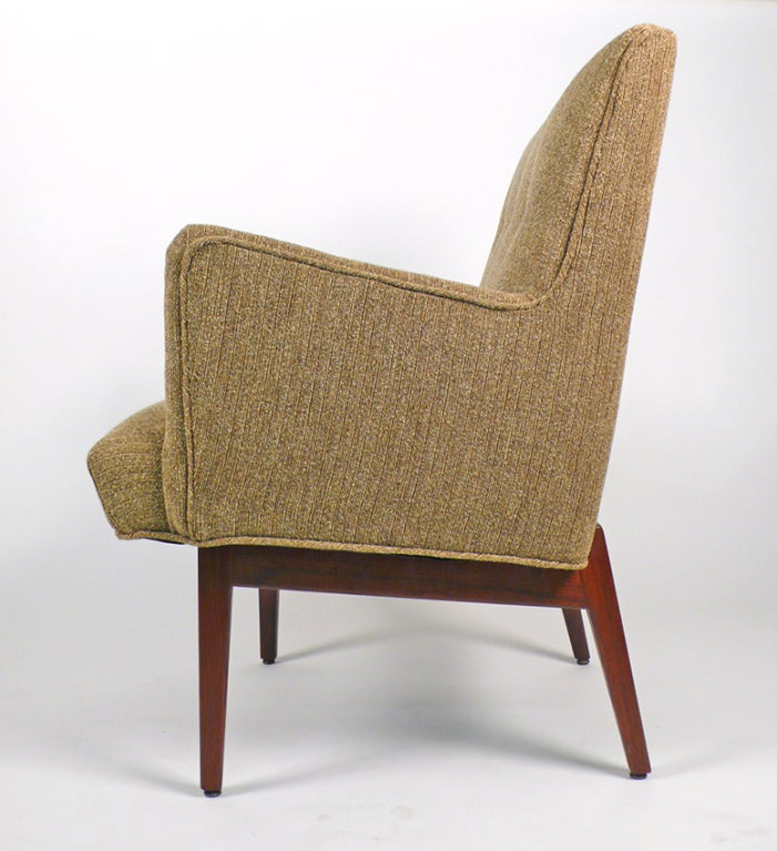 Mid-20th Century Beautiful Armchair by Jens Risom For Sale