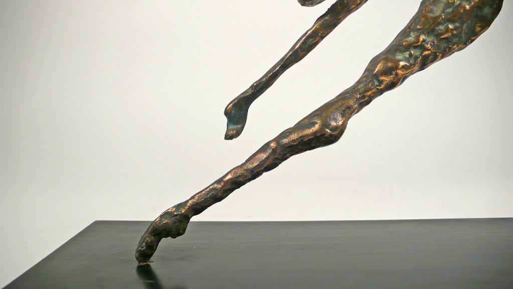 Bronze Figural Sculpture by Curtis Jere For Sale 1