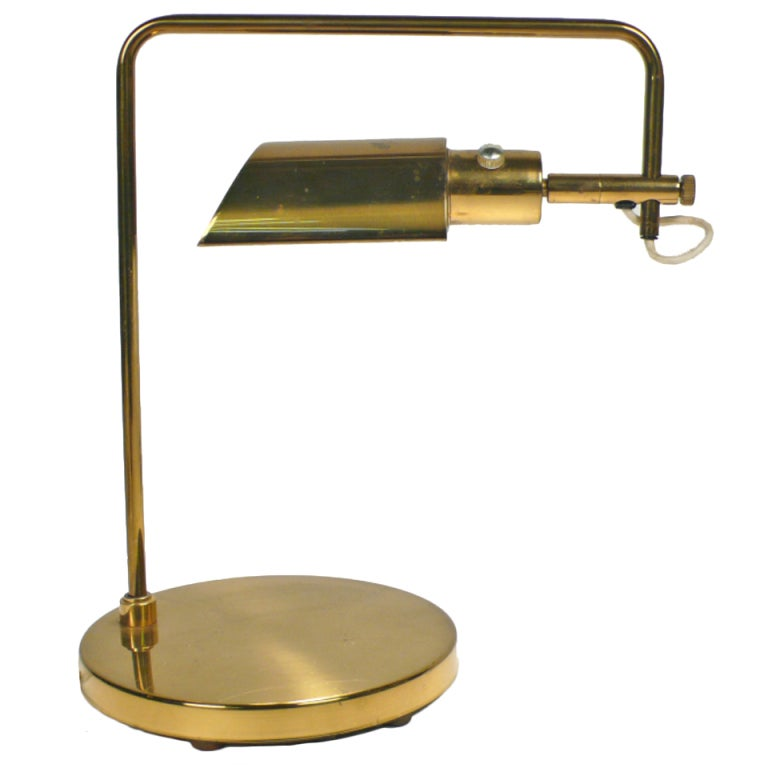 Swing Arm Table Lamp by Koch and Lowy