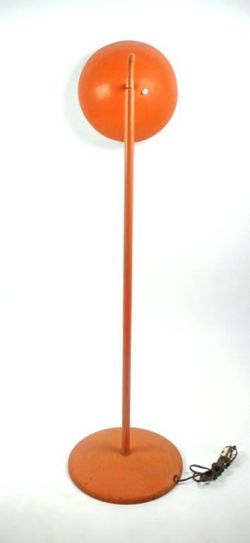 Mid-Century Modern Adjustable Floor Lamp by Kurt Versen