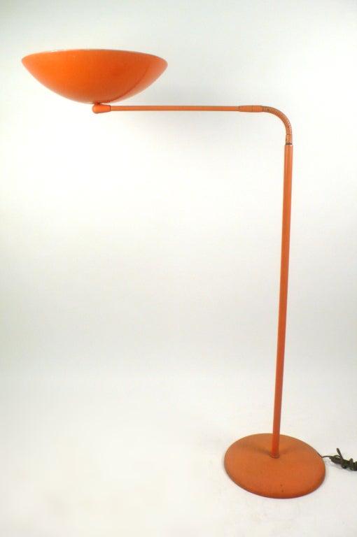 Mid-20th Century Adjustable Floor Lamp by Kurt Versen