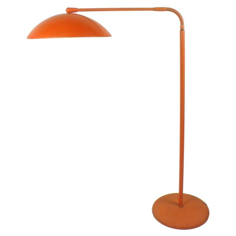 Adjustable Floor Lamp By Kurt Versen At 1stdibs