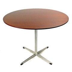 Game Table by Arne Jacobsen for Fritz Hansen