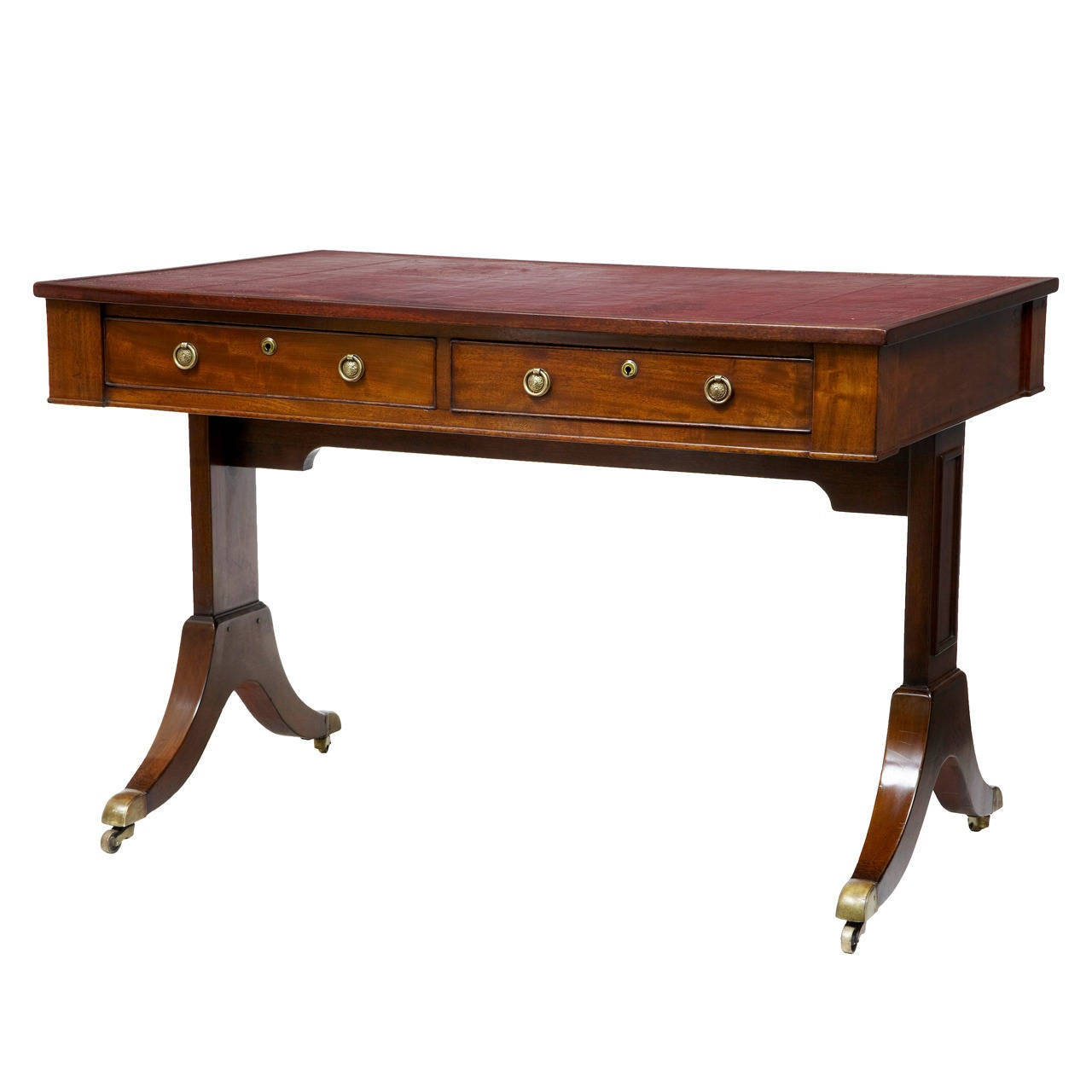 #733B1A 19th Century And Later Mahogany Writing Desk Table For Sale At 1stdibs with 1280x1280 px of Brand New Mahogany Writing Table 12801280 pic @ avoidforclosure.info