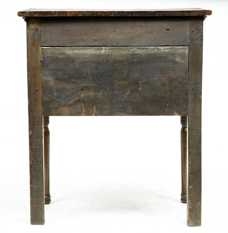 18th century antique small yew wood side table dresser at 1stdibs