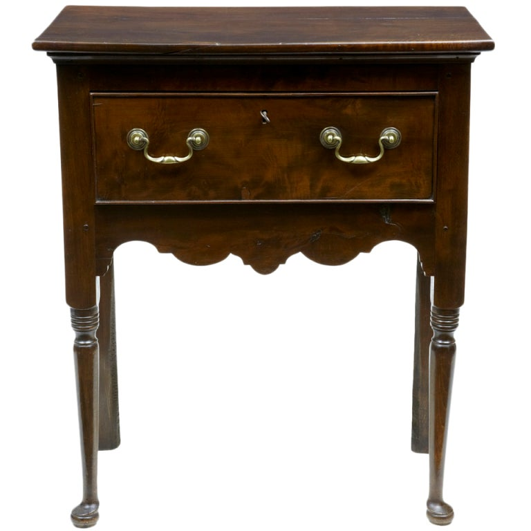 18th century antique small yew wood side table dresser for Small tables for sale