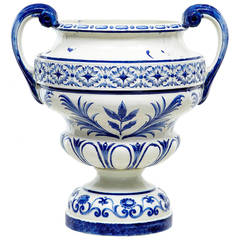 Early 20th Century Rorstrand Large Ceramic Urn