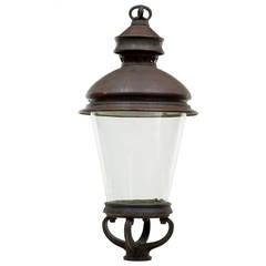 19th Century Large Copper Lantern