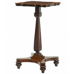 19th Century Early Victorian, Exotic Wood Occasional Table