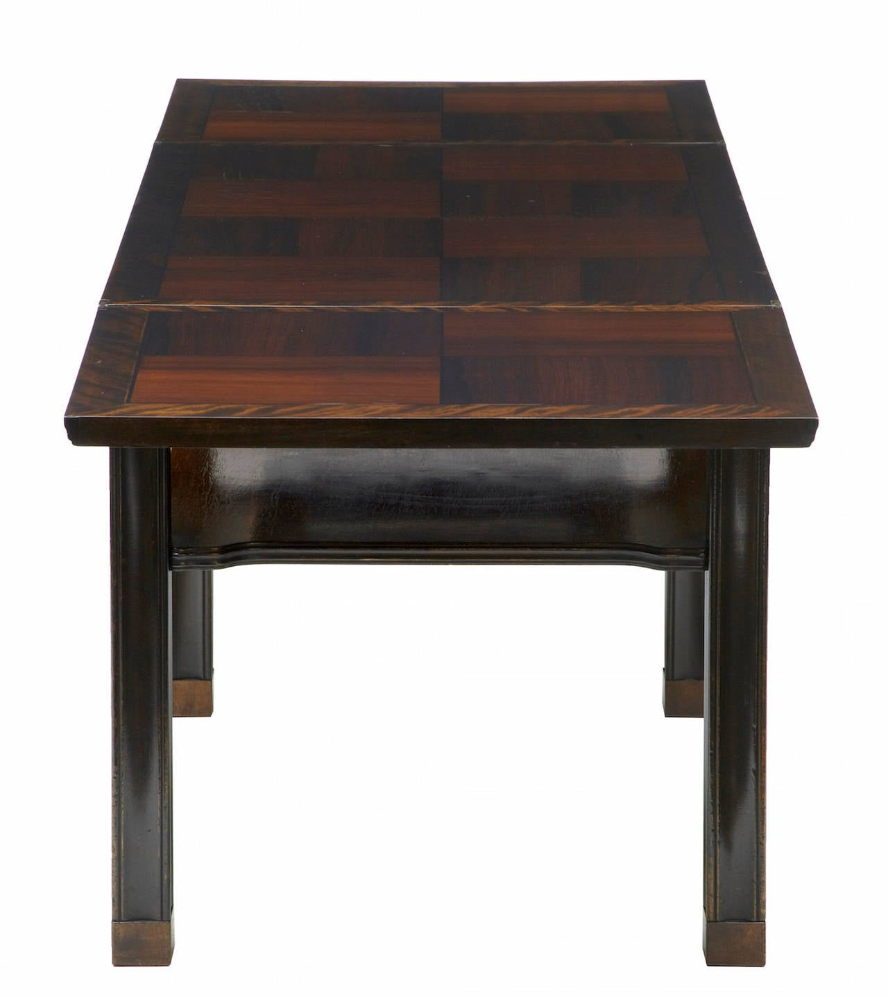 20th Century Danish Rosewood Flip Top Coffee Table At 1stdibs