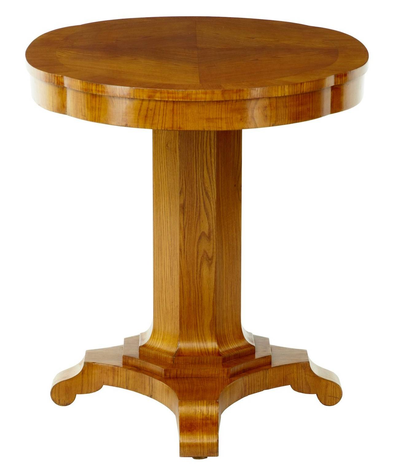 19th century elm centre table, circa 1890.
