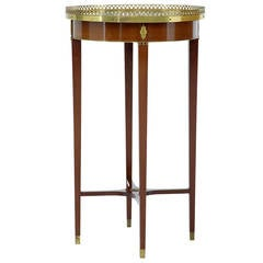 20th Century Empire Influenced Mahogany Occasional Table