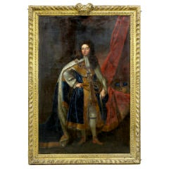 PORTRAIT OF WILLIAM III STUDIO OF SIR GODFREY KNELLER