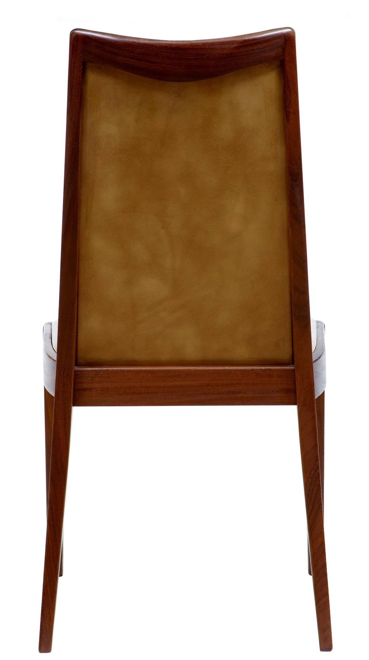 Set of eight 1960s teak retro g plan dining chairs image 5 for G plan teak dining room chairs