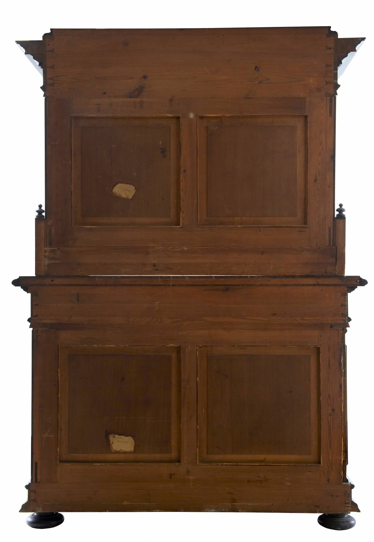 19th Century Italian Rosewood Baroque Style Cupboard For Sale 1